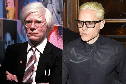 Jared Leto hóa 'vua pop art' Andy Warhol trong phim tiểu sử
