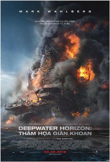 Tặng độc giả vé xem ra mắt phim 'Deepwater Horizon'