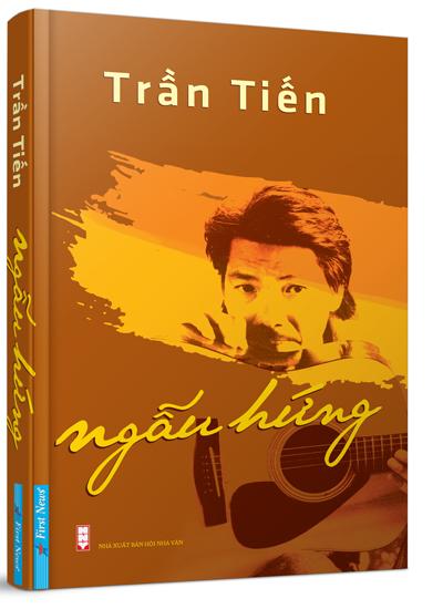 Bìa sách Ngẫu hứng của Trần Tiến.