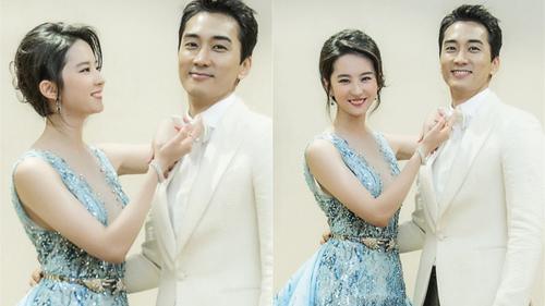 Song Seung Hun đón sinh nhật tuổi 40 bên Lưu Diệc Phi