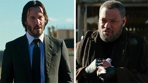 Keanu Reeves và bạn diễn ruột 'Ma trận' tái hợp ở 'John Wick 2'