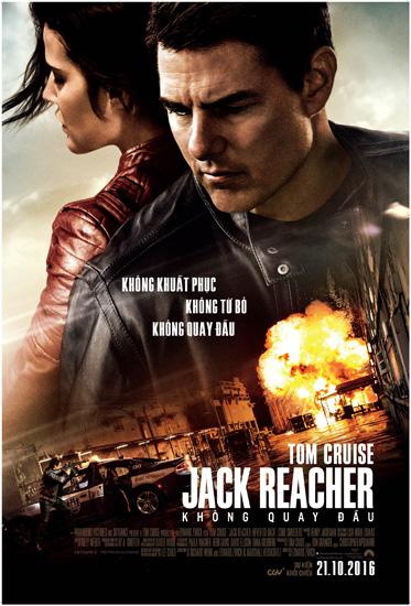 Tặng độc giả vé xem ra mắt 'Jack Reacher: Never Go Back'