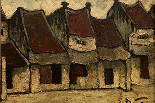 Tác phẩm của họa sĩ Bùi Xuân Phái