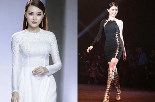 Ngọc Duyên có nhiều kinh nghiệm trình diễn thời trang. Cô từng tham gia Đêm hội chân dài 2015