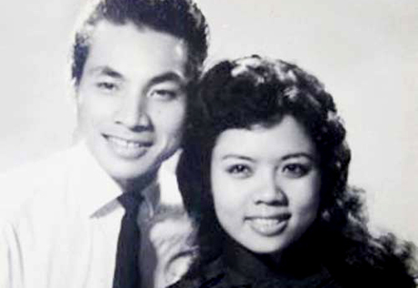 Nghệ sĩ Thành Được và Út Bạch Lan chụp năm 1960. Ảnh tư liệu của Nghệ sĩ Nhân dân Viễn Châu.