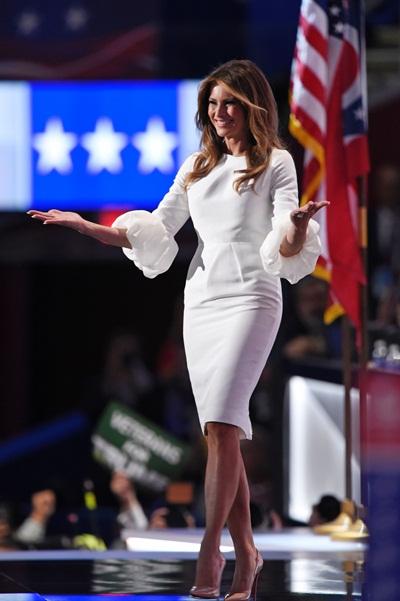 Trong cuộc tranh cử Tổng thống, Melania