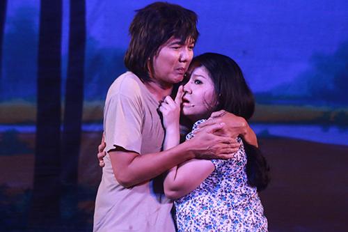 Diễn viên Lê Thanh Thảo đóng vai người vợ sắp sinh của Ba.