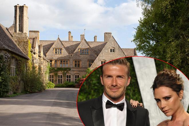 Bên trong biệt thự 33 triệu USD của vợ chồng Victoria Beckham