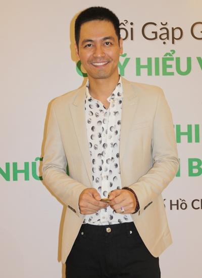 MC Phan Anh tại sự kiện.
