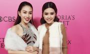 Lê Hà, Ngọc Duyên diện đồ hiệu ở hậu trường Victoria's Secret