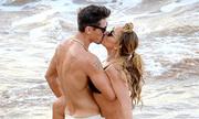 Mariah hôn bồ trẻ sau hơn một tháng chia tay tỷ phú