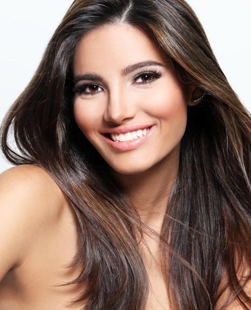 Nhan sắc đậm nét Latin của tân Hoa hậu Thế giới 2016
