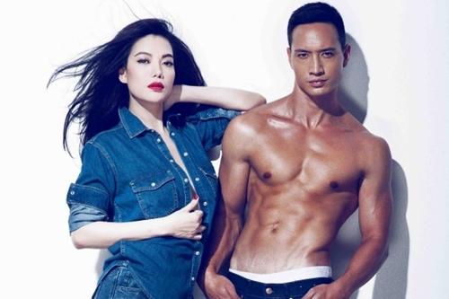 Trương Ngọc Ánh và Kim Lý đến với nhau khi cùng đóng bộ phim điện ảnh Hương Ga, ra mắt năm 2014. Họ thường xuyên xuất hiện tình tứ trong các sự kiện giải trí. Tháng 11/2015