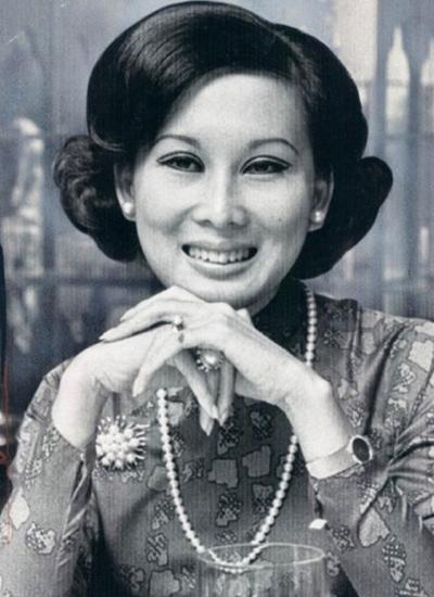 Bà Đặng Tuyết Mai nằm trong số mỹ nhân một thời của Sài Gòn.