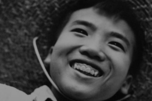 Thần đồng thơ Trấn Đăng Khoa thuở bé. Ảnh: Quang Huy.