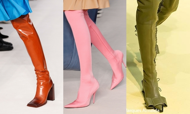 10 xu hướng giày hot nhất Xuân Hè 2017