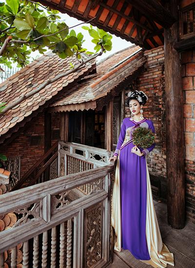 Lan Khuê làm nàng thơ trong bộ sưu tập Võ Việt Chung - ảnh 6