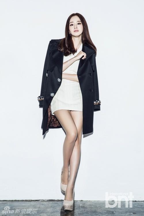 Phong cách thời trang thanh lịch của Kim Tae Hee
