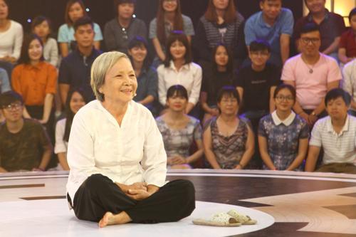 Cụ bà Phạm Kim Thanh.