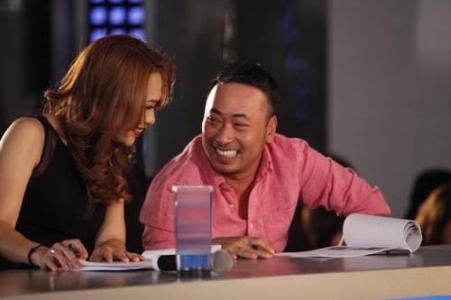 Mỹ Tâm và đạo diễn Quang Dũng có thời gian thân thiết khi cùng làm giám khảo.