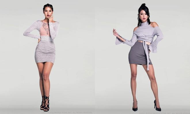 Minh Tú đọ hình thể với dàn mẫu Asia's Next Top Model