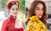 Chi Pu, Hà Hồ trang điểm đẹp với tông màu rực rỡ