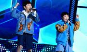 G-Dragon và Taeyang phiên bản nhí gây sốt Hàn Quốc