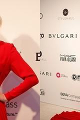 Người đẹp Pháp lộ vòng ba ở tiệc Oscar 2017