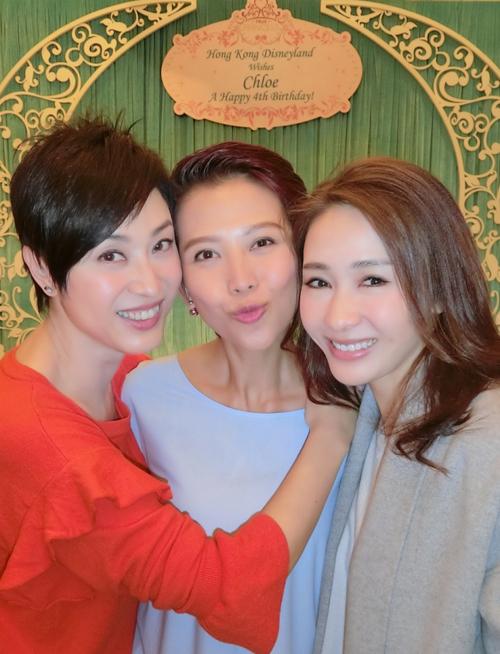 Các hoa đán U40, 50 của TVB hội ngộ