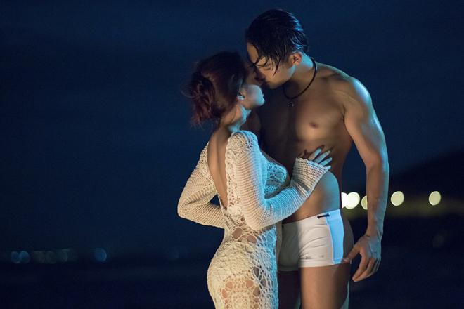 Bảo Anh tình tứ với bạn trai Vũ Ngọc Anh trong MV