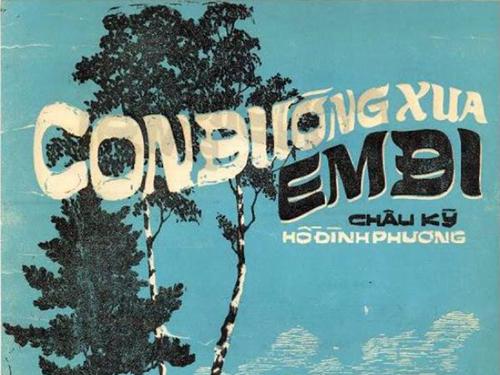 Con đường xưa em đi là ca khúc sáng tác trước năm 1975 bị cấm vì có nhiều dị bản.