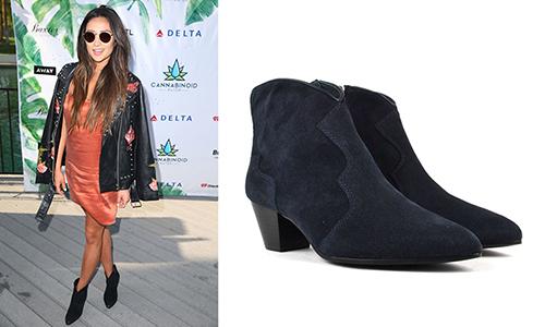Ngôi sao của Pretty Little Liars - Shay Mitchell chọn đôi boot Hurricane quyến rũ.