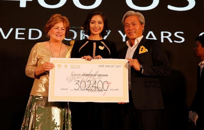 Ngô Thanh Vân quyên góp gần 7 tỷ đồng giúp trẻ bệnh tim
