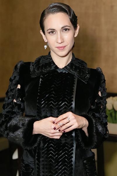 Nhà thiết kế Delfina Delettrez Fendi. Ảnh: Vogue.