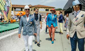 Các quý ông mặc bắt mắt ở lễ hội thời trang nam