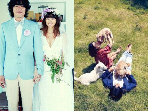 Sau hôn lễ bí mật vào năm 2013, Lee Hyori và Lee Sang Soon có cuộc sống bình dị tại đảo Jeju.