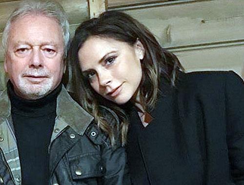 Victoria Beckham chúc mừng chồng nhân 'Ngày của bố'
