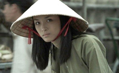 Phương Nga trong phim Người lính - bộ phim cô tham gia ở Nga.