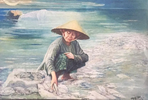 Hội Văn học Nghệ thuật Trà Vinh: Tranh 'Biển chết' vi phạm bản quyền