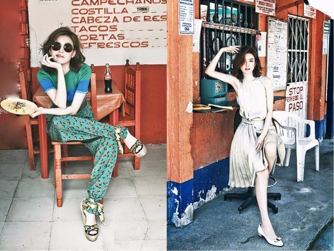 Sao Hàn: Gu thời trang biến hóa của 'Mỹ nhân cười đẹp nhất Hàn Quốc'
