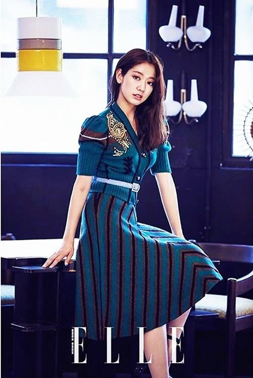 Park Shin Hye khoe sắc quyến rũ trên tạp chí