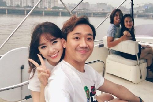Lâu nay, Việt Hương và Trấn Thành là cặp bài trùng trên sân khấu hài kịch và cũng là những người bạn thân thiết trong cuộc sống.