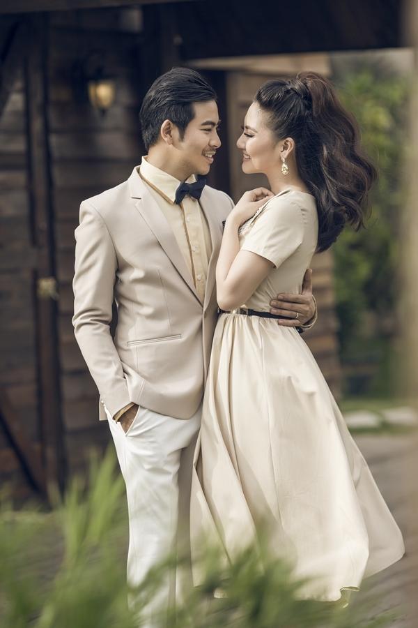 Ngọc Lan - Thanh Bình chụp ảnh kỷ niệm thời hẹn hò