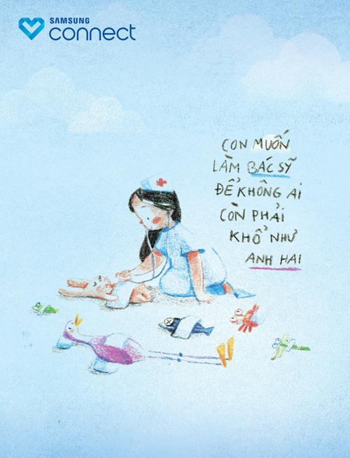 Họa sĩ Tamypu: 'Mọi tranh vẽ của tôi đều bắt nguồn từ trẻ thơ'