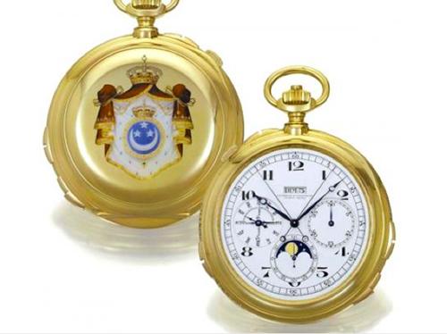 Năm 1935, theo đơn đặt hàng của Đức vua Farouk, Ai Cập, Vacheron Constantin đã tạo ra một chiếc đồng hồ bỏ túi phức tạp nhất thế giới mà những kỹ sư và những nghệ nhân tài khéo nhất của Vacheron Constantin đã miệt mài sáng tạo suốt 5 năm để hoàn thành, gồm 14 chức năng phức tạp và 840 chi tiết.