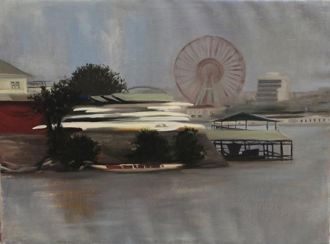 Hồ Tây qua góc nhìn của nữ họa sĩ Hungary