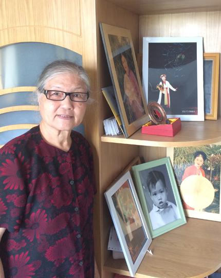 Tuổi già an nhàn của 'Xúy Vân' Diễm Lộc