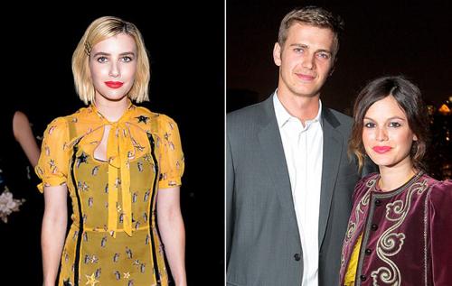Emma Roberts khiến vợ chồng Hayden Christensen ly hôn