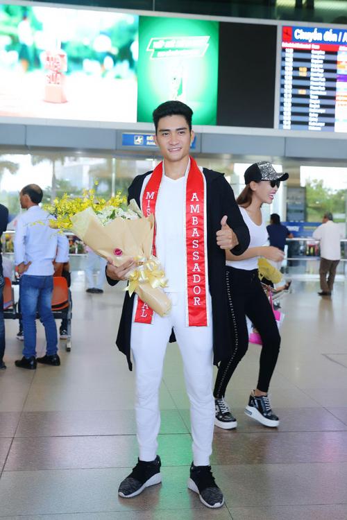 Lương Gia Huy trở về sau đăng quang nam vương Đại sứ Hoàn vũ