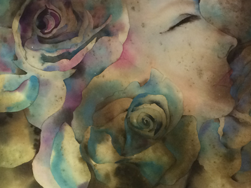 Hơn 200 bức tranh màu nước được trưng bày tại Hà Nội